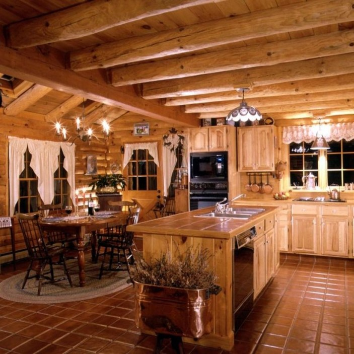 Beautiul log homes ideas to inspire you 41