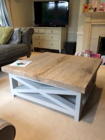 Best chunky farmhouse coffee table 19