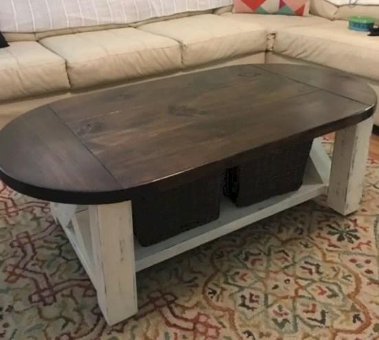 Best chunky farmhouse coffee table 26