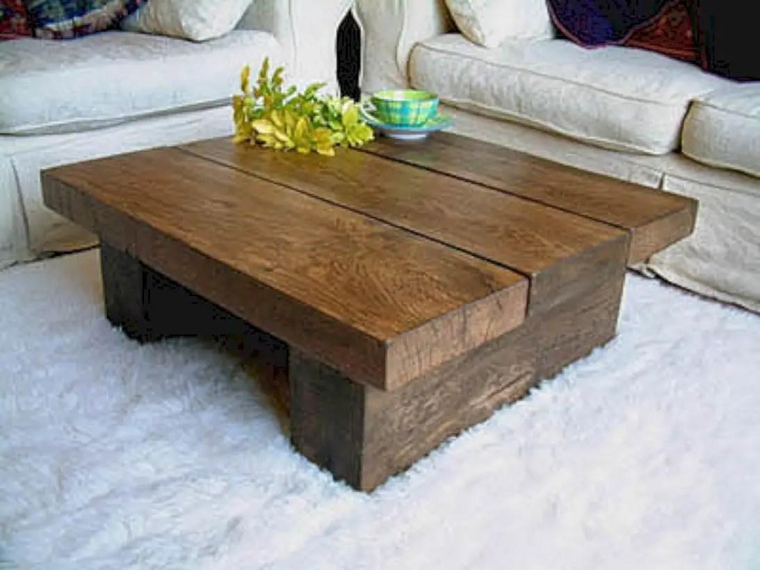 Best chunky farmhouse coffee table 27