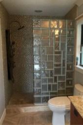 Best classic glass block shower layout 04