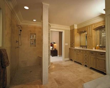 Best classic glass block shower layout 11