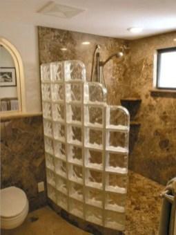 Best classic glass block shower layout 19