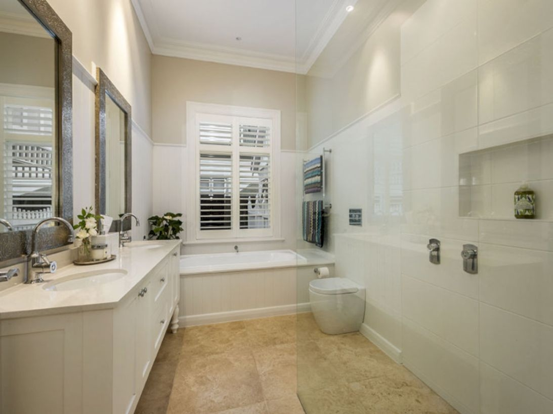 Best classic glass block shower layout 20