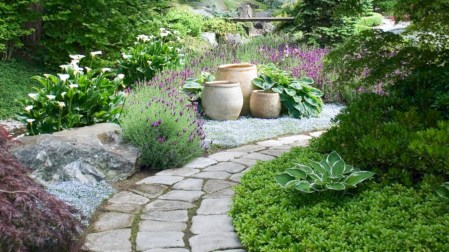 Best garden walkway to envy your visitor 04