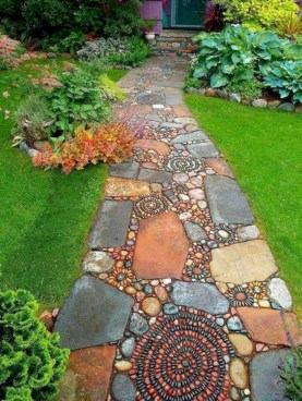 Best garden walkway to envy your visitor 11