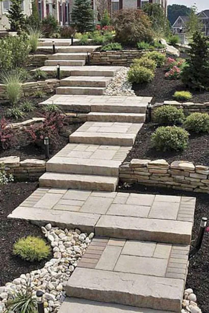 Best garden walkway to envy your visitor 15