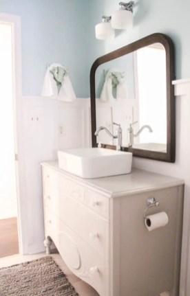 Best modern vintage bathroom reveal 08
