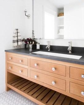 Best modern vintage bathroom reveal 10