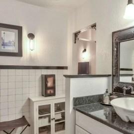 Best modern vintage bathroom reveal 19