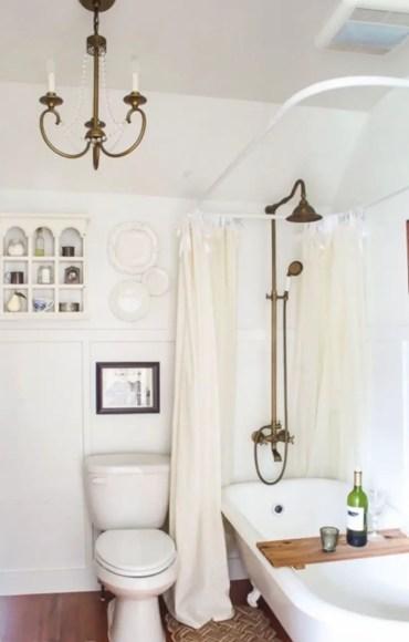 Best modern vintage bathroom reveal 32
