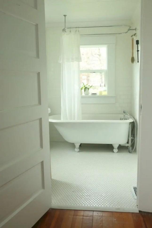 Best modern vintage bathroom reveal 35