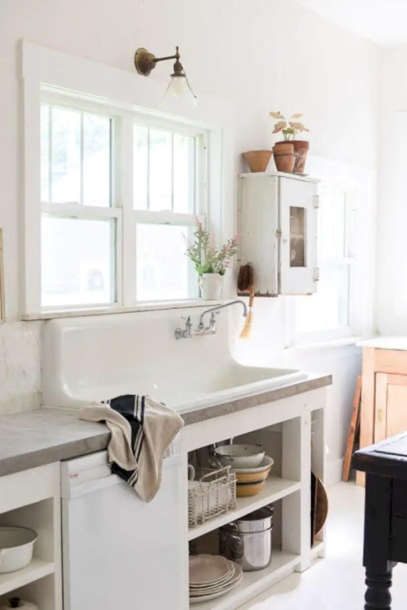 Best modern vintage bathroom reveal 42