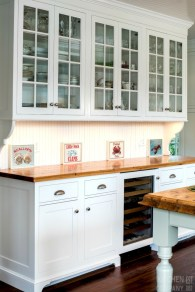 Charming custom kitchens cabinets designs 09