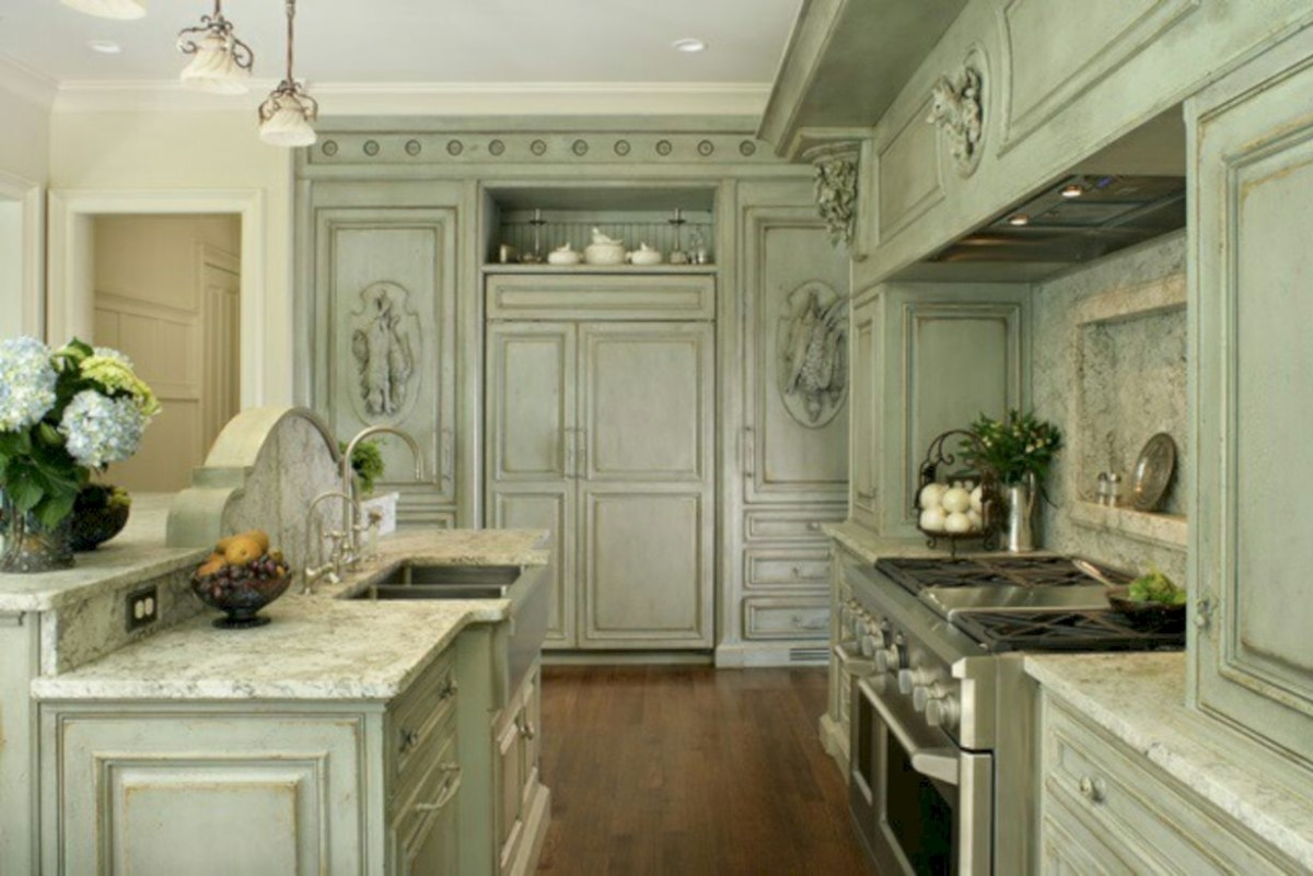 Charming custom kitchens cabinets designs 12