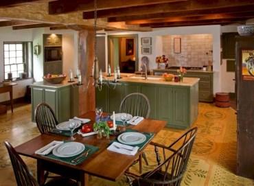 Charming custom kitchens cabinets designs 18