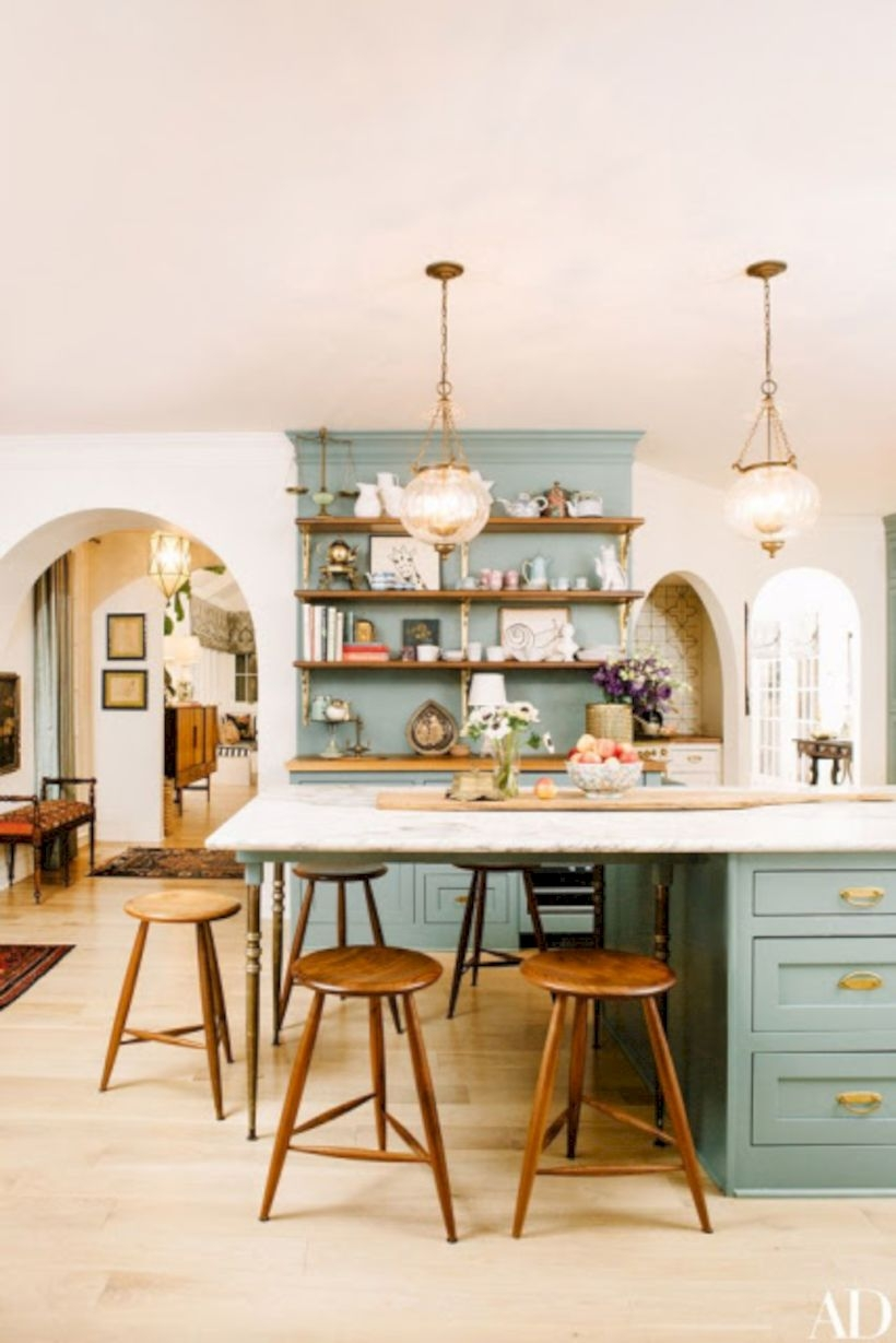 Charming custom kitchens cabinets designs 24