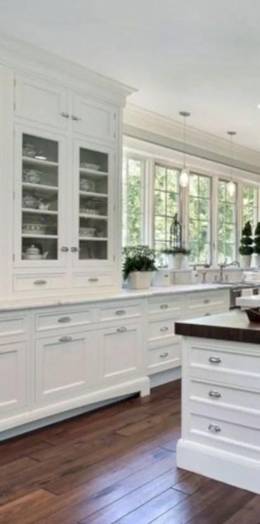 Charming custom kitchens cabinets designs 26