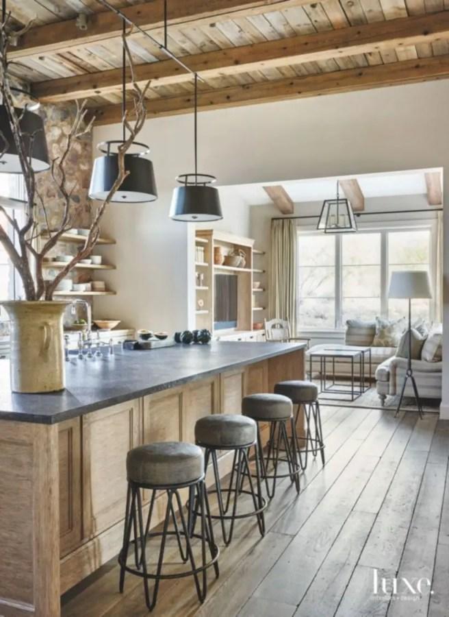 Charming custom kitchens cabinets designs 31