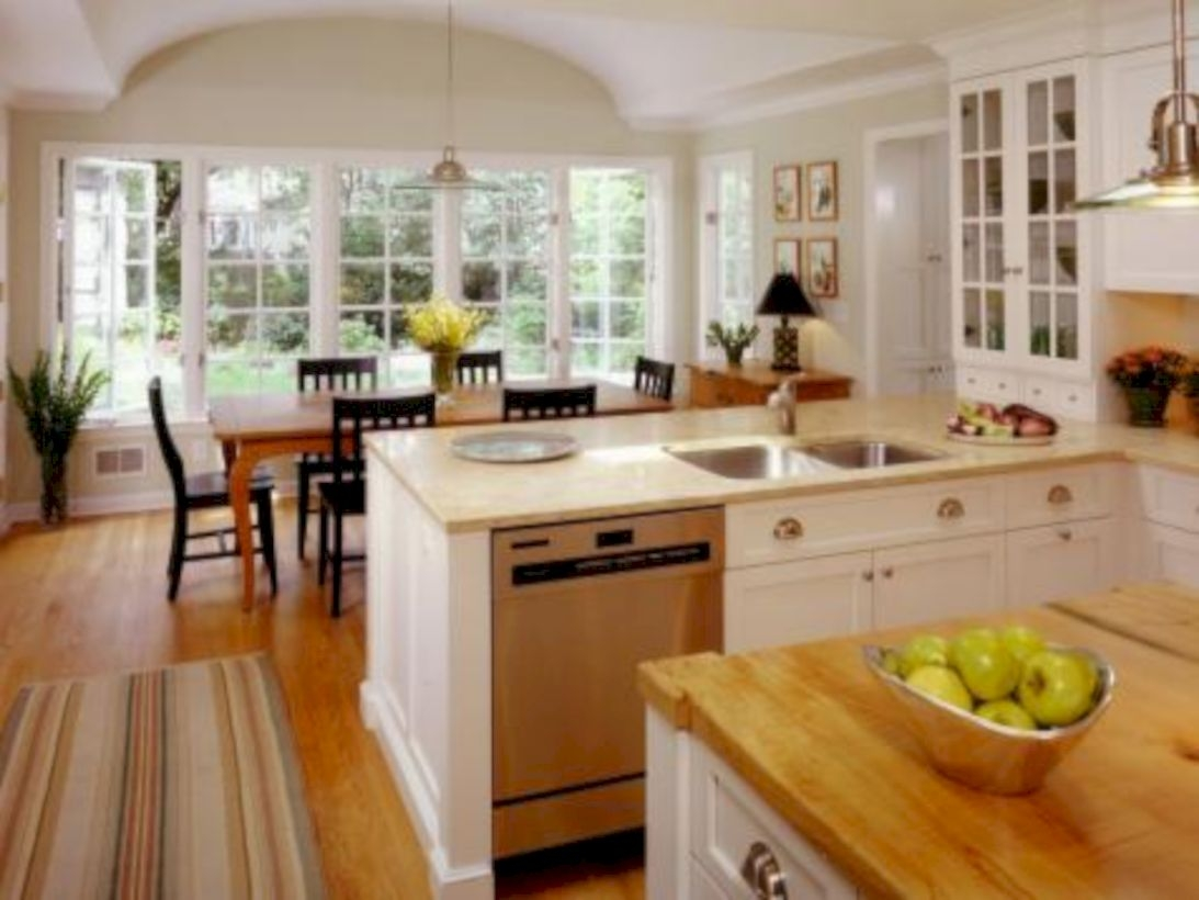 Charming custom kitchens cabinets designs 34