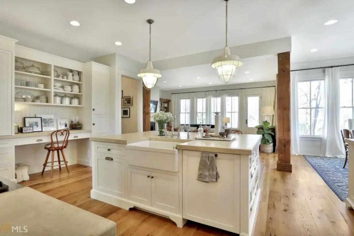 Kitchen Designs White Appliances