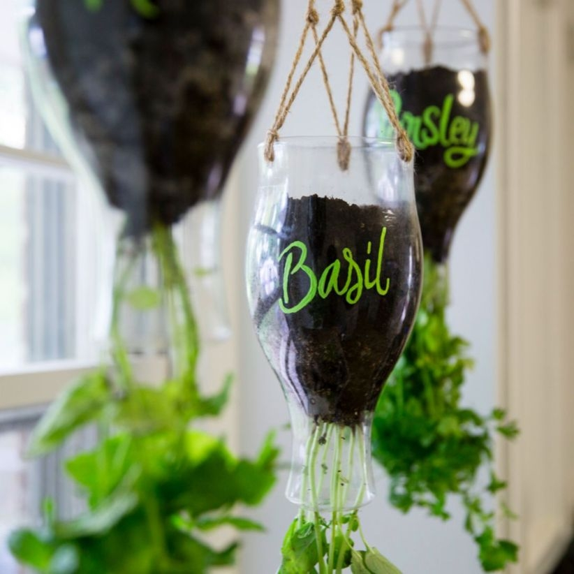 Charming outdoor hanging planters ideas to brighten your yard 05