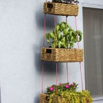 Charming outdoor hanging planters ideas to brighten your yard 22