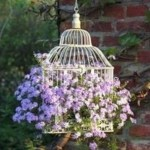 Charming outdoor hanging planters ideas to brighten your yard 25