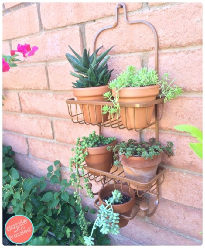 Charming outdoor hanging planters ideas to brighten your yard 26