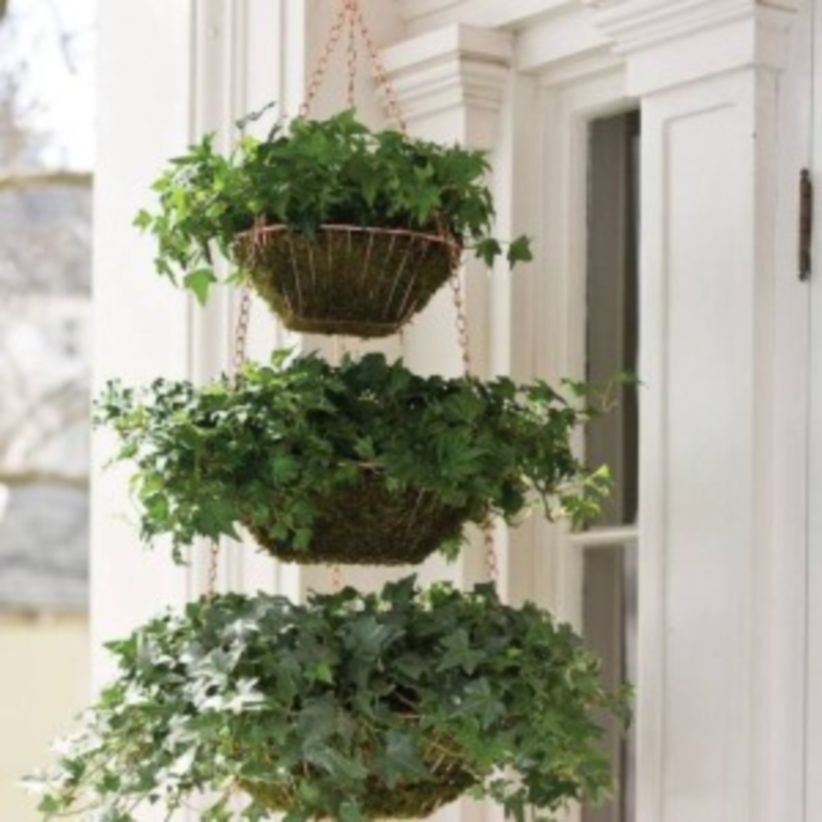 Charming outdoor hanging planters ideas to brighten your yard 39