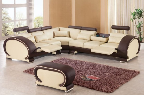 Comfortable sectional sofa for your living room 07