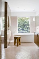Creative bathroom with soft stone floor to massage your feet 03