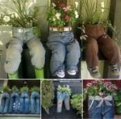 Creative garden potting ideas 01