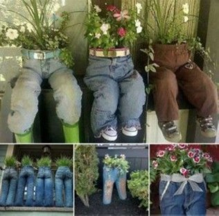 Creative garden potting ideas 01