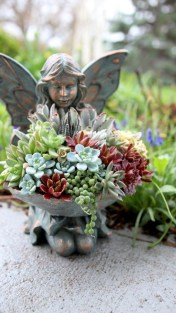 Creative garden potting ideas 16