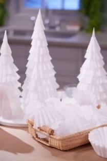 Diy christmas cone trees 06