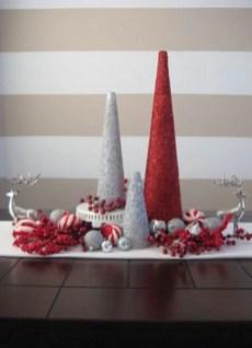 Diy christmas cone trees 15