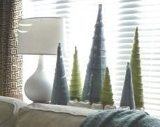 Diy christmas cone trees 37