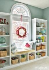 Diy wall shelves ideas for living room decoration 02