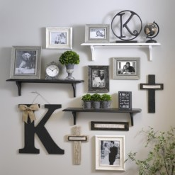 Diy wall shelves ideas for living room decoration 04