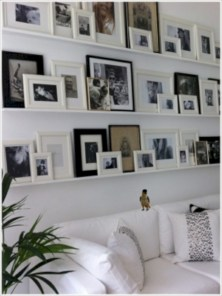 Diy wall shelves ideas for living room decoration 07