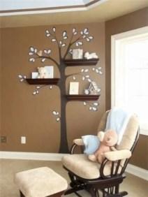 Diy wall shelves ideas for living room decoration 23