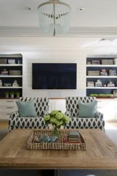 Diy wall shelves ideas for living room decoration 31
