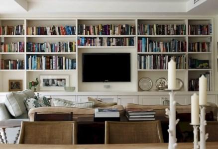 Diy wall shelves ideas for living room decoration 37