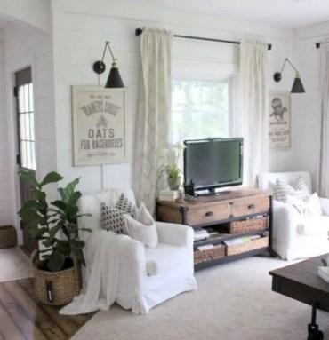 Diy wall shelves ideas for living room decoration 41