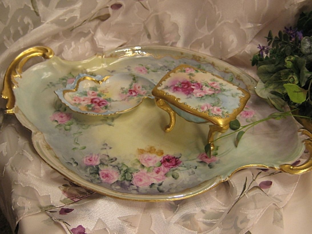 Easy diy footed vanity tray 01