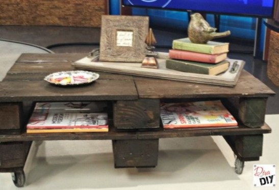 Easy pallet furniture projects for beginners 19
