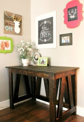 Easy pallet furniture projects for beginners 31