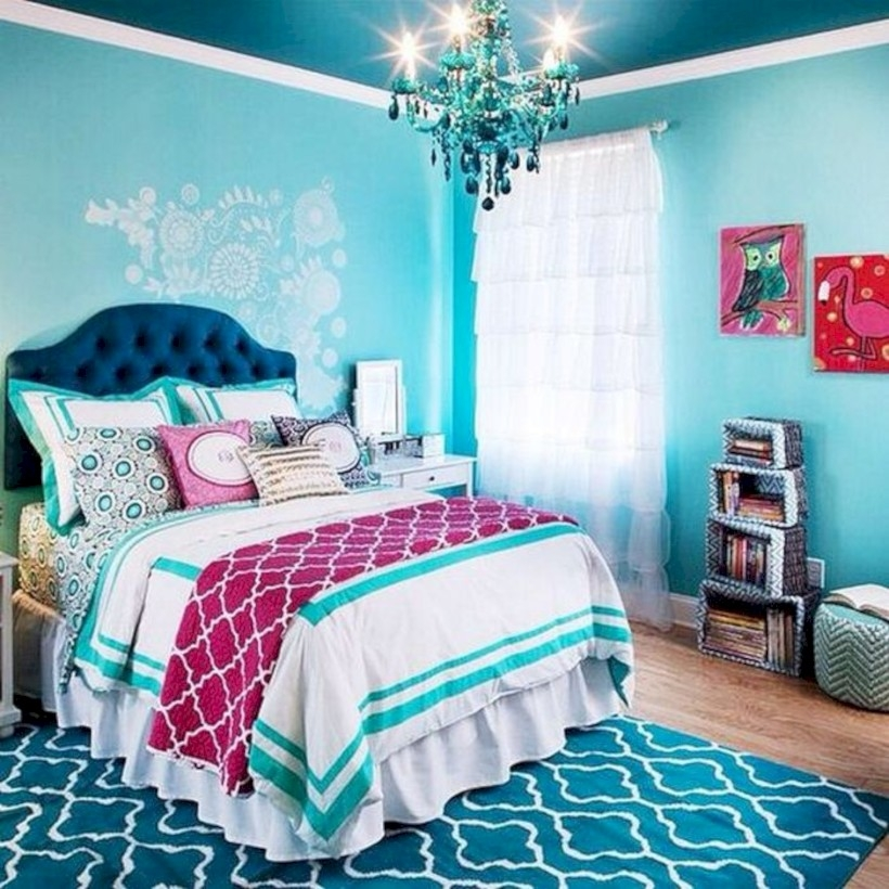 Easy and clever teen bedroom makeover ideas 22