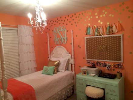 Easy and clever teen bedroom makeover ideas 24